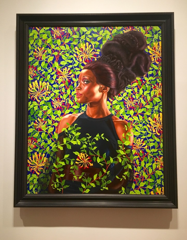 Kehinde Wiley, you made my LaborDay
